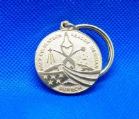 STS-51 NASA Contractor Key Chain